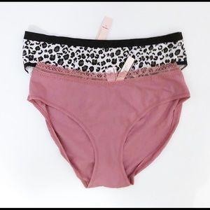 Victoria's Secret Intimates & Sleepwear - 2 NWT Victoria's Secret High Waist Panties Large